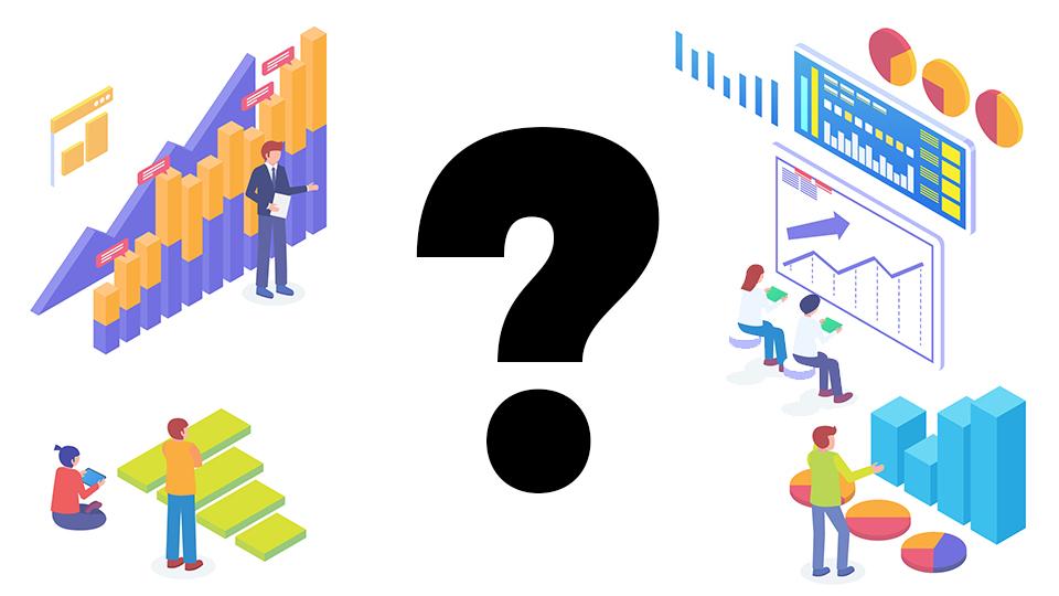Cómo elegir el gráfico más adecuado para representar los datos en un informe