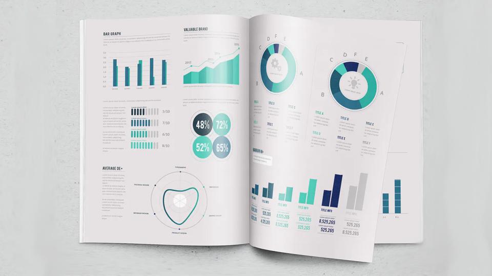 impresión en papel de infografías