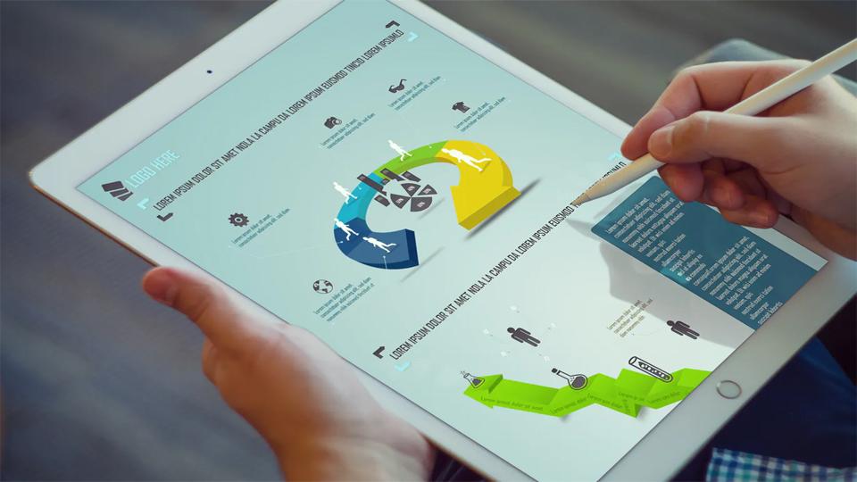 se pueden usar muchas aplicaciones para mostrar su información de manera más efectiva con la ayuda de cuadros y gráficos